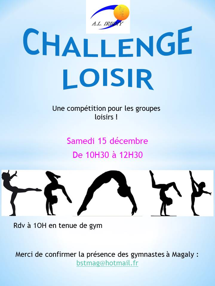 Challenge loisir 2018