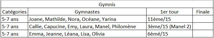 Competitions 2019 2020 gymnis ce