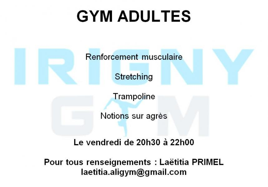 Gym adultes ce